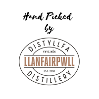 Logo of Hand Picked by Llanfairpwll Distillery